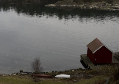 Fredelige Ørp i februar.