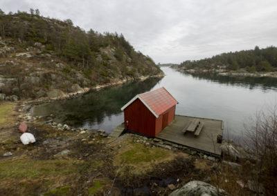 Februarstille og flatt vanne´i Ørp.
