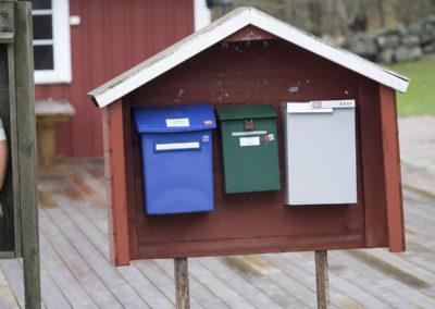 Posten kommer uansett tid og vær.