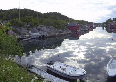 Skogøysund-sommer i juni.