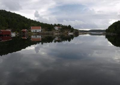 Skogøysund-sommer i juli.