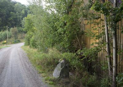 Stille augustmorgen på Fuglevik ved låvebroa.