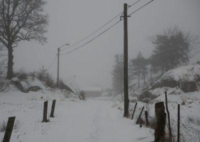 Landøy i januar.