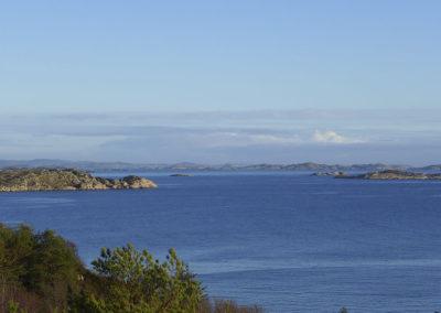 Reiseruten mellom Ås og Landøy. Uansett årstid. Uansett vær. Og januar har nettopp begynt.