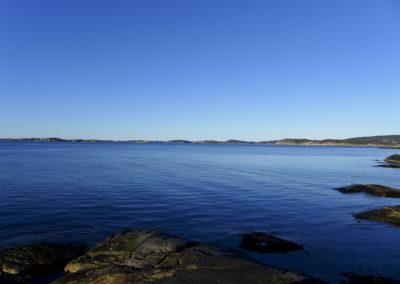 Mars er også stillhet. Landøy og Skogsøy i sikte.