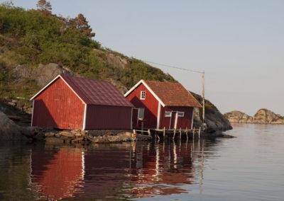 Augustsommer på Landøy.