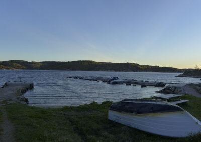 Grytidlig maistemning på Landøy. Vi ser over til Skogsøy.