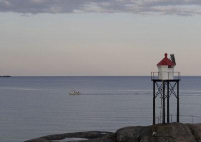 Endt fisketur en junikveld rundt Tånes løkt.