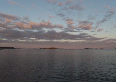 Stillhet på fjorden.